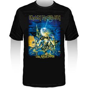 Camiseta-Infantil-Iron-Maiden-Powerslave