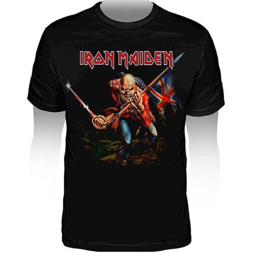 Camiseta-Infantil-Iron-Maiden-The-Trooper-KID326