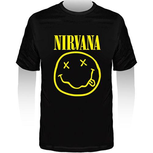 Camiseta-Infantil-Nirvana-Smile
