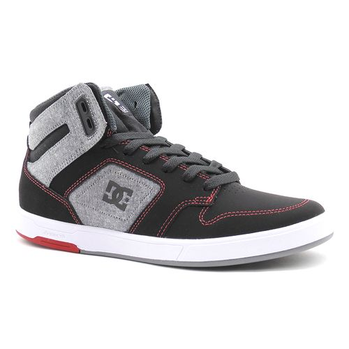 Tenis-DC-Nyjah-High-Black-Grey-L20J-