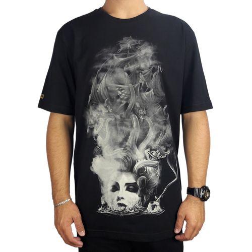 Camiseta-Lost-Basica-Girl-Pirate-Preto