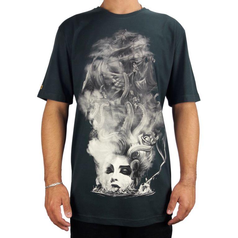 Camiseta Lost Basica Girl Pirate Verde - galleryrock 197dc4fb0b0