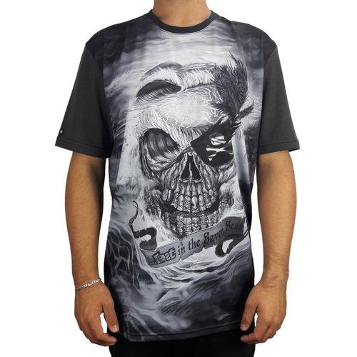 Camiseta-Lost-Pirate-Skull-Preto
