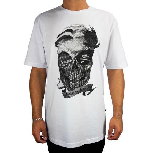 Camiseta-Lost-Basica-Skull-Branco