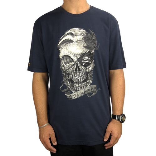 Camiseta-Lost-Basica-Skull-Marinho