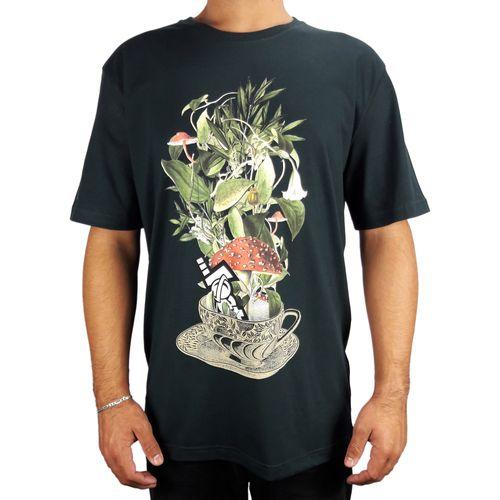 Camiseta-Lost-Basica-Cup-Of-Flowers-Verde