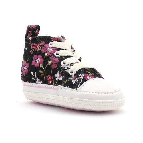 Tenis-All-Star-First-Star-Flowers-Preto-L1P-