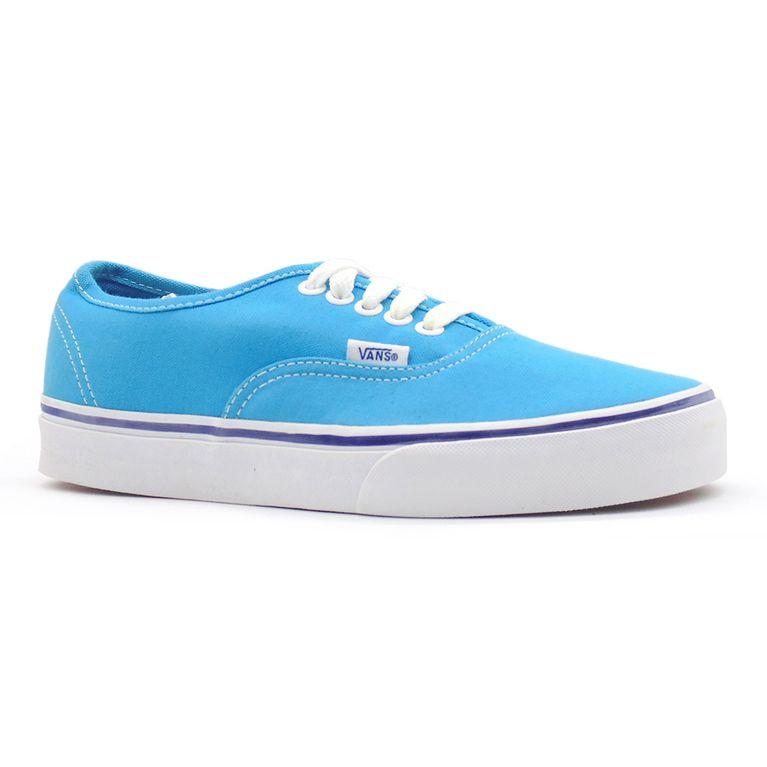 Tênis Vans Authentic Fry Cyan Blue True White - Gallery Rock ... d2442b0a189