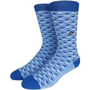 Meia-Lupo-Urban-3d-Azul-Branco