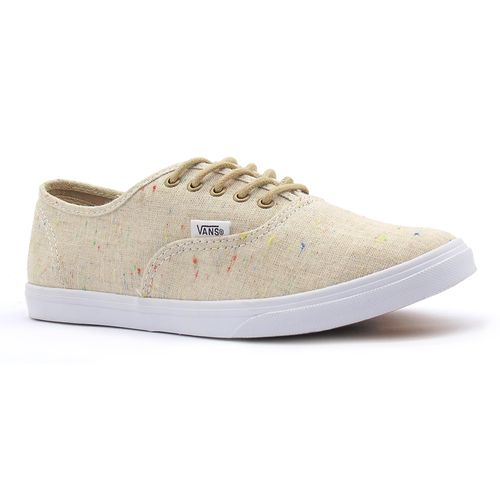 Tenis-Vans-Authentic-Lo-Pro-Speckle-Linen-Tan-L5l-