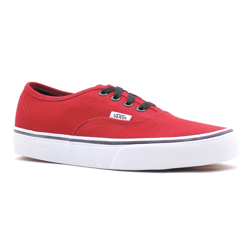 Tênis Vans Authentic Chili Pepper Black - Gallery Rock - galleryrock 2362adcfaecf1