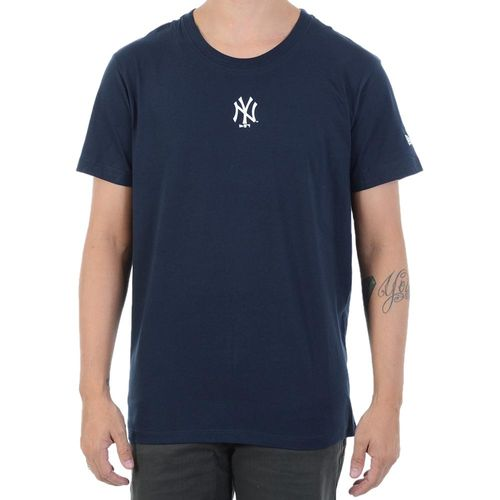 Camiseta-New-Era-Mini-Logo-New-York-Yankees-Marinho