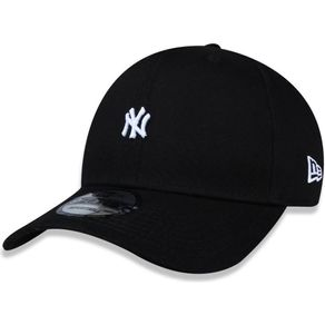 Bone-New-Era-940-SN-Mini-Logo-New-York-Yankees-Black