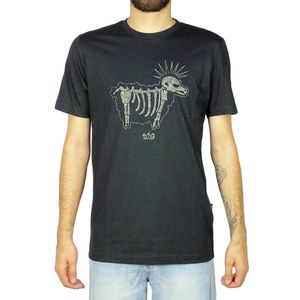 Camiseta-Lost-Cammo-Sheep-Preto