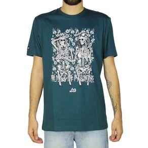 Camiseta-Lost-Nudes-In-Paradise-Verde-Petroleo