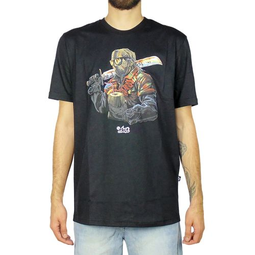 Camiseta-Lost-Jason-Preto