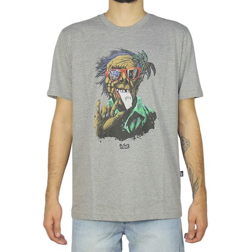 Camiseta-Lost-Monster-Cinza-Mescla