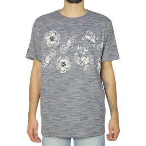 Camiseta-Lost-Black-Skull-Chumbo