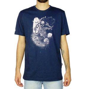 Camiseta-Lost-Surf-Ruined-Marinho