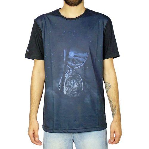 Camiseta-Lost-Ampulheta-Chumbo