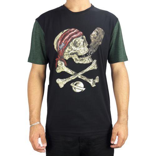 Camiseta-Lost-Pirate-Skull-Verde