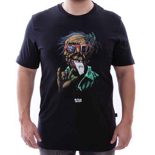 Camiseta-Lost-Monster-Preto