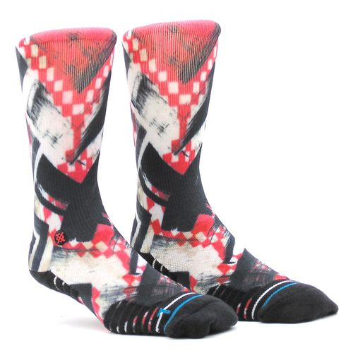 Meia-Stance-Traction-Pink-Rosa-Preto