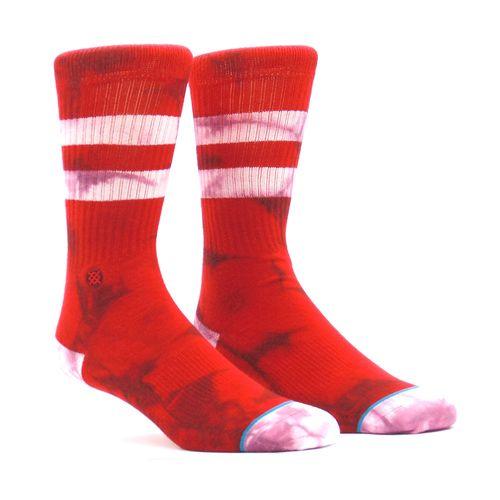 Meia-Stance-Burned-Red-Vermelho
