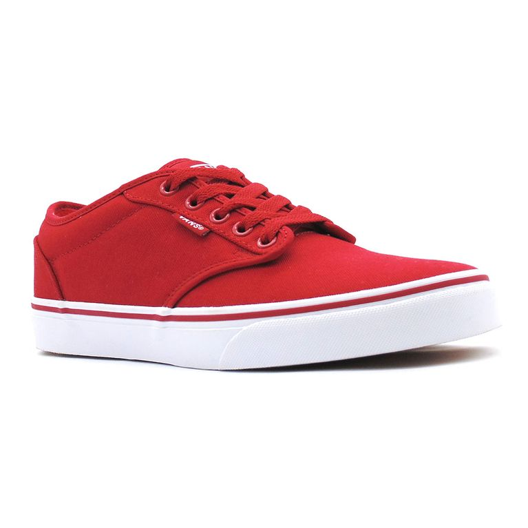 75b75a16eab26d Tênis Vans Atwood Canvas Red White - Gallery Rock - galleryrock