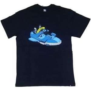Camiseta-DC-Cole-Shoe-Preta