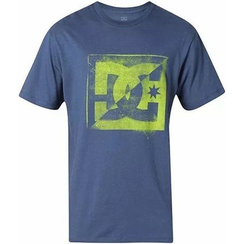 Camiseta-DC-Pollution-Azul-Escuro