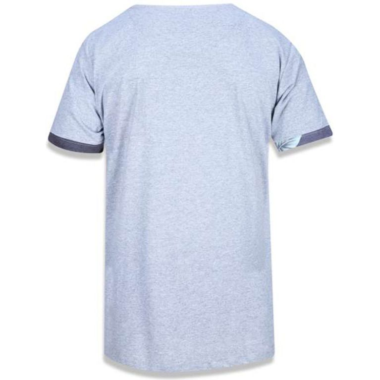 a3e9b4e59971a Camiseta New Era Bolsinho Floral Korea Cinza - galleryrock