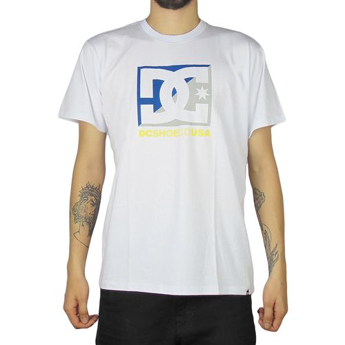 Camiseta-DC-Mc-Cross-Star-Branca