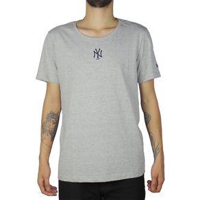 Camiseta-New-Era-Mini-Logo-New-York-Yankees-Cinza