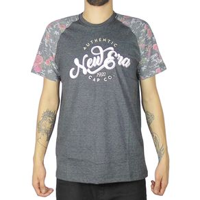 Camiseta-New-Era-Raglan-Camu-Roses-Mescla