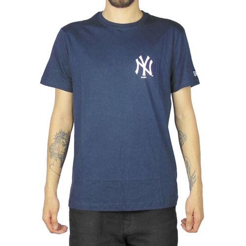 Camiseta-New-Era-Core-13-New-York-Yankees-Marinho