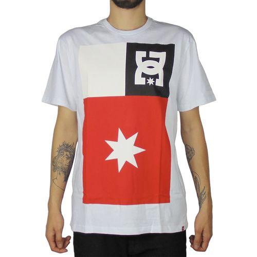 Camiseta-DC-Basica-Core-Skate-Branca