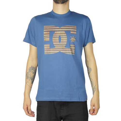 Camiseta-DC-Mc-7ply-Star-Azul