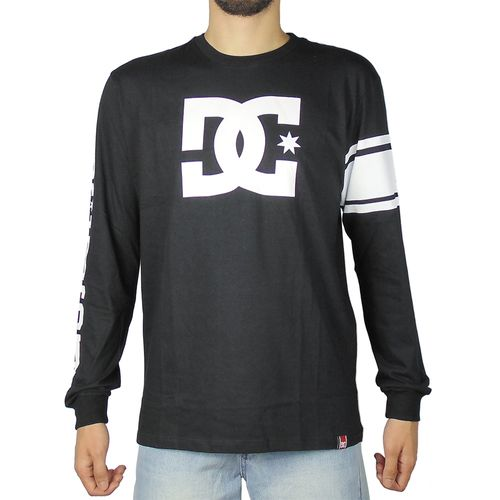Camiseta-DC-Shoes-RD-Star-Preta