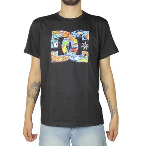 Camiseta-DC-Basica-Mc-All-City-Preta