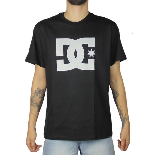 Camiseta-DC-Basica-Mc-Star-Preta