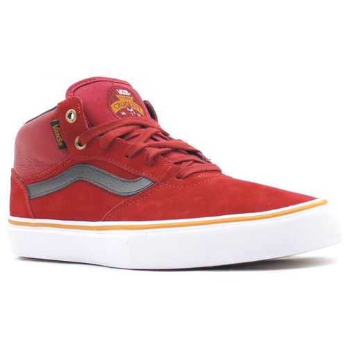 Tenis-Vans-Gilbert-Crockett-Pro-Mid-Dark-Red-Black-L22e-