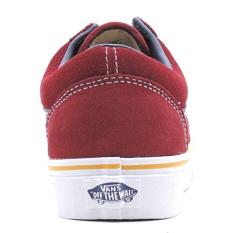 e1f517936b Tênis Vans Old Skool Suede Leather Oxblood Red - Gallery Rock ...