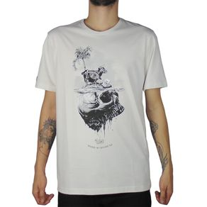 Camiseta-Lost-Sheep-Skull-Branco-Vintage