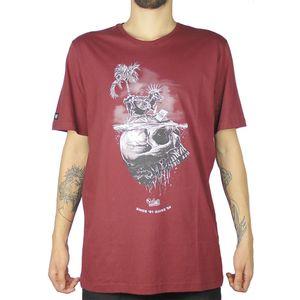 Camiseta-Lost-Sheep-Skull-Bordo