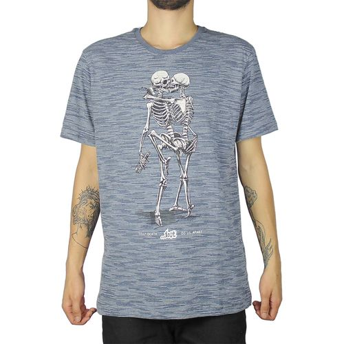 Camiseta-Lost-Skull-Lovers-Marinho