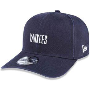 Bone-New-Era-940-Mini-Script-New-York-Yankees-Marinho