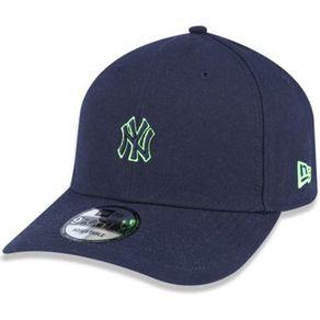 Bone-New-Era-940-Mini-Logo-Neon-New-York-Yankees-Marinho