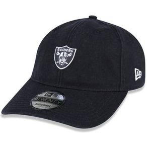 Bone-New-Era-920-Mini-Logo-Classic-Oakland-Raiders-Black