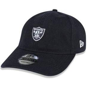 Bone-New-Era-920-Mini-Logo-Classic-Oakland-Raiders-Black